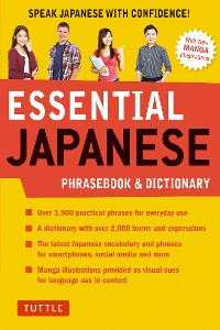 Cover Essential Japanese Phrasebook & Dictionary