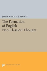Cover Formation of English Neo-Classical Thought