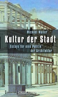 Cover Kultur der Stadt