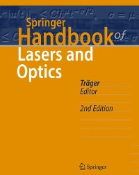 Cover Springer Handbook of Lasers and Optics