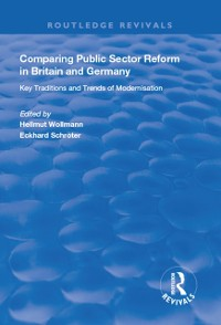 Cover Comparing Public Sector Reform in Britain and Germany