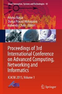 Cover Proceedings of 3rd International Conference on Advanced Computing, Networking and Informatics