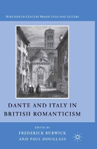 Cover Dante and Italy in British Romanticism