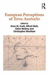Cover European Perceptions of Terra Australis