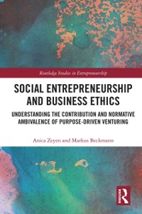 Cover Social Entrepreneurship and Business Ethics