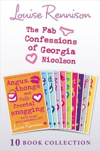 Cover Complete Fab Confessions of Georgia Nicolson: Books 1-10 (The Fab Confessions of Georgia Nicolson)
