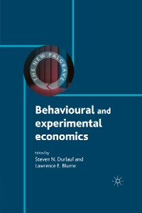 Cover Behavioural and Experimental Economics