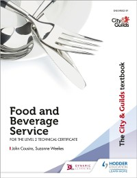 Cover City & Guilds Textbook: Food and Beverage Service for the Level 2 Technical Certificate