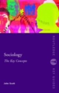 Cover Sociology: The Key Concepts