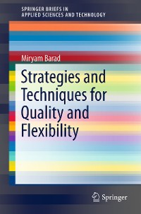 Cover Strategies and Techniques for Quality and Flexibility