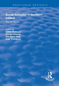 Cover Social Attitudes in Northern Ireland