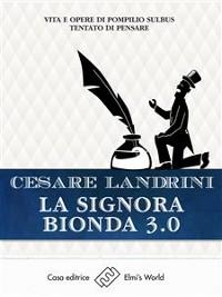 Cover La signora bionda 3.0