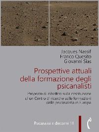 Cover Prospettive attuali della formazione degli psicanalisti