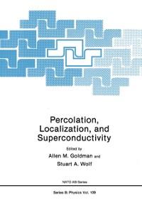 Cover Percolation, Localization, and Superconductivity