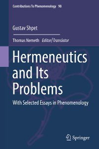 Cover Hermeneutics and Its Problems