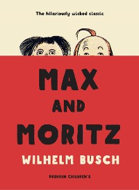 Cover Max and Moritz
