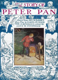 Cover The Story of Peter Pan, Retold from the Fairy Play by Sir James Barrie