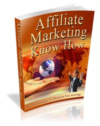 Cover Affiliate Marketing Know How
