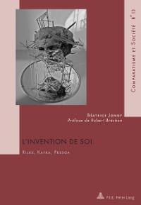Cover L'Invention de soi