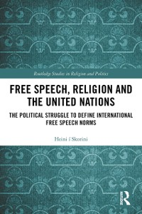Cover Free Speech, Religion and the United Nations