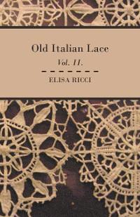 Cover Old Italian Lace - Vol. II.