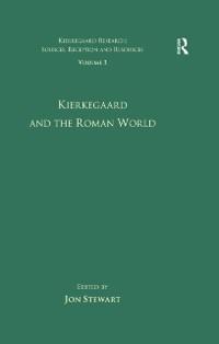 Cover Volume 3: Kierkegaard and the Roman World