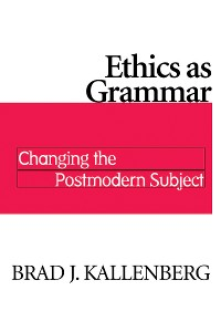 Cover Ethics as Grammar