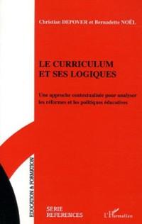 Cover Le curriculum et ses logiques