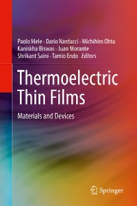 Cover Thermoelectric Thin Films
