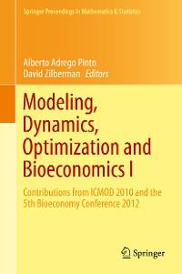 Cover Modeling, Dynamics, Optimization and Bioeconomics I