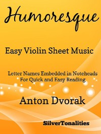 Cover Humoresque Easy Violin Sheet Music