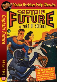 Cover Captain Future #4 The Triumph of Captain