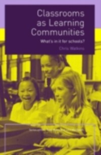 Cover Classrooms as Learning Communities