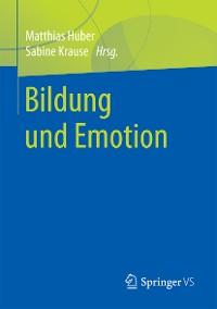 Cover Bildung und Emotion