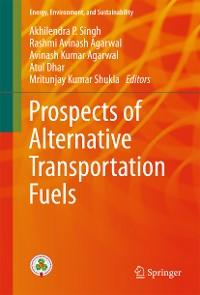 Cover Prospects of Alternative Transportation Fuels