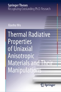 Cover Thermal Radiative Properties of Uniaxial Anisotropic Materials and Their Manipulations