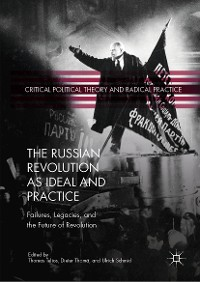 Cover The Russian Revolution as Ideal and Practice