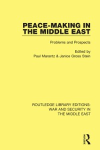 Cover Peacemaking in the Middle East