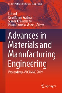 Cover Advances in Materials and Manufacturing Engineering