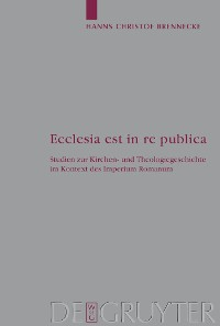 Cover Ecclesia est in re publica