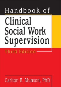 Cover Handbook of Clinical Social Work Supervision