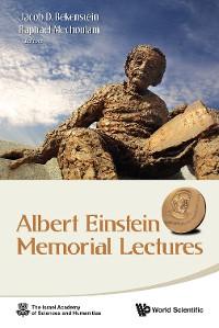 Cover Albert Einstein Memorial Lectures