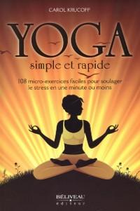 Cover Yoga simple et rapide