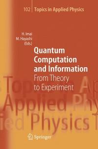 Cover Quantum Computation and Information