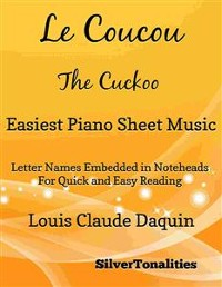 Cover Le Coucou the Cuckoo Easiest Piano Sheet Music