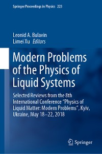 Cover Modern Problems of the Physics of Liquid Systems