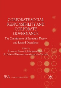 Cover Corporate Social Responsibility and Corporate Governance