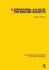 Cover Structural Atlas of the English Dialects