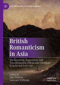 Cover British Romanticism in Asia