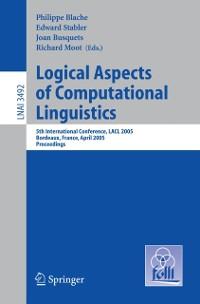 Cover Logical Aspects of Computational Linguistics